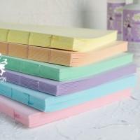 Блоки для блокнотов А5 пастель ручной работы