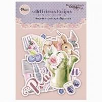 Набор высечек для скрапбукинга Delicious Recipes от Scrapmir