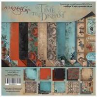 Набор двусторонней бумаги 30х30  Time to dream от Scrapmir (eng)