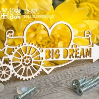 "Чипборд стимпанк ""Big Dream"" Ht-051"