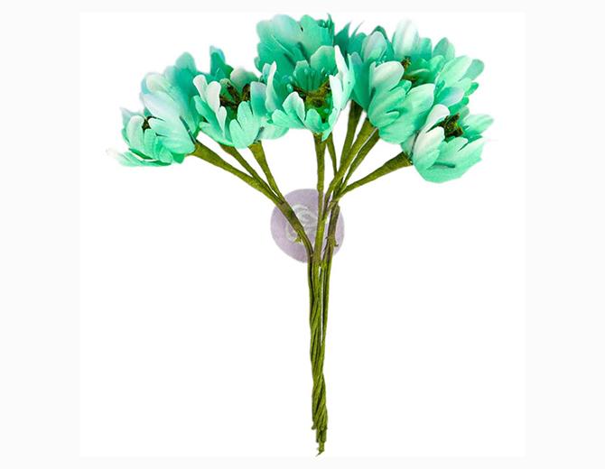 Цветы Flower Bundles-Mint от Prima Marketing
