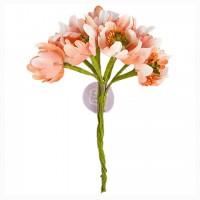 Цветы Flower Bundles-Peach от Prima Marketing