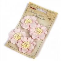 Гардении нежно-розовые, набор 4 шт.