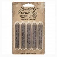 Набор металлических украшений Word Bands Idea-ology от Tim Holtz