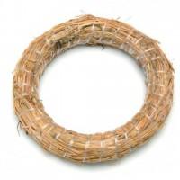 Венок из соломы 30 см