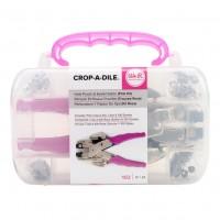 Установщик люверсов Pink Crop-A-Dile Kit от We R Memory Keepers
