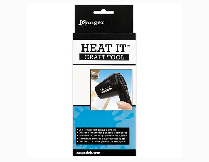 Фен для эмбоссинга Heat It Craft Tool Inkssentials от Ranger