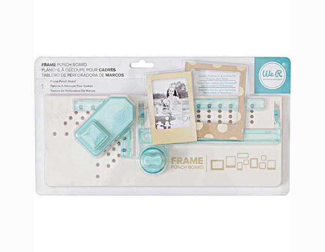 Доска для изготовления рамок  Frame Punch Board от We R Memory Keepers