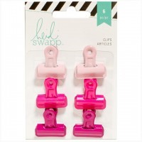 Набор зажимов Bulldog Clips Pinks от Heidi Swapp