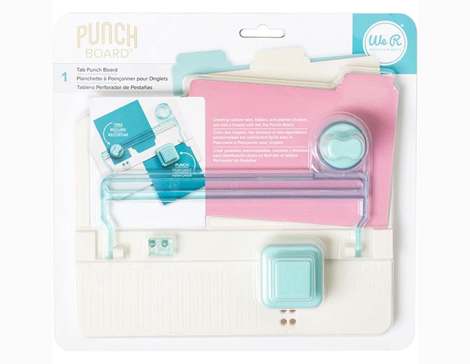 Доска для создания разделителей Tab Punch Board от We R Memory Keepers