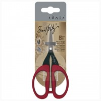 Ножницы от Tim Holtz Non-Stick Micro Serrated Mini Snips 5""