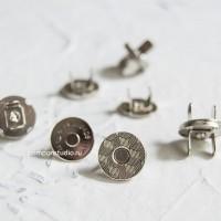 Кнопка магнитная 14 мм круглая