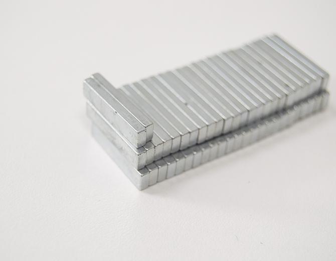 Магнит неодимовый для скрапбукинга 18*4 мм, толщина 2 мм