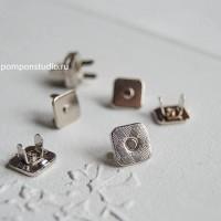 Кнопка магнитная 10 мм квадратная