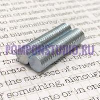 Магнит неодимовый для скрапбукинга 8*1,5 мм