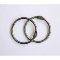 Кольца для альбомов 40мм никель