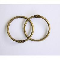 Кольца для альбомов 40мм бронза