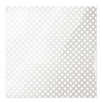 "Лист оверлея White Dot Clearly Bold Acetate Sheets 12""X12"""