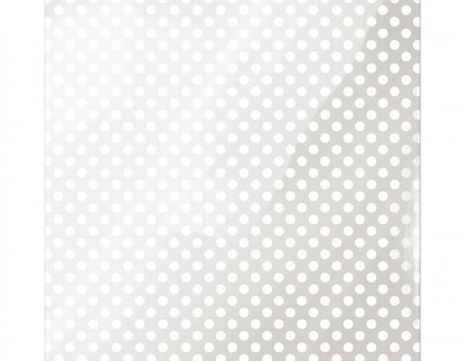 """Лист оверлея White Dot Clearly Bold Acetate Sheets 12""""X12"""""""