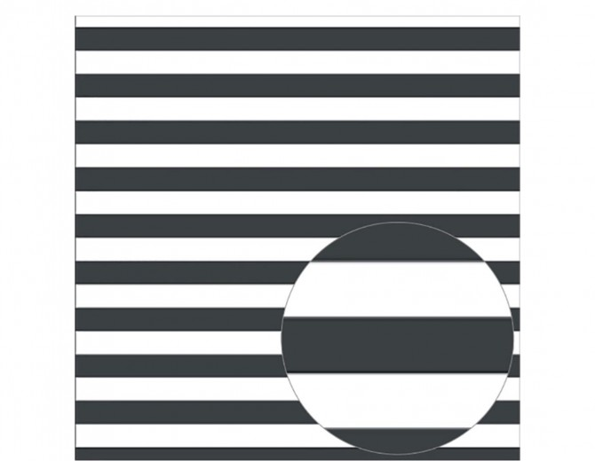 "Лист оверлея Raven Printed Acetate Stripes Sheets 12""X12"" Bazzill"