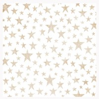 "Веллум Copper Stars Sweet Freedom Foiled Vellum 12""X12"" от Pink Paislee"