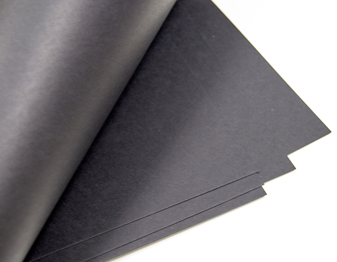 Кардсток дизайнерский 300гр/м черный А4