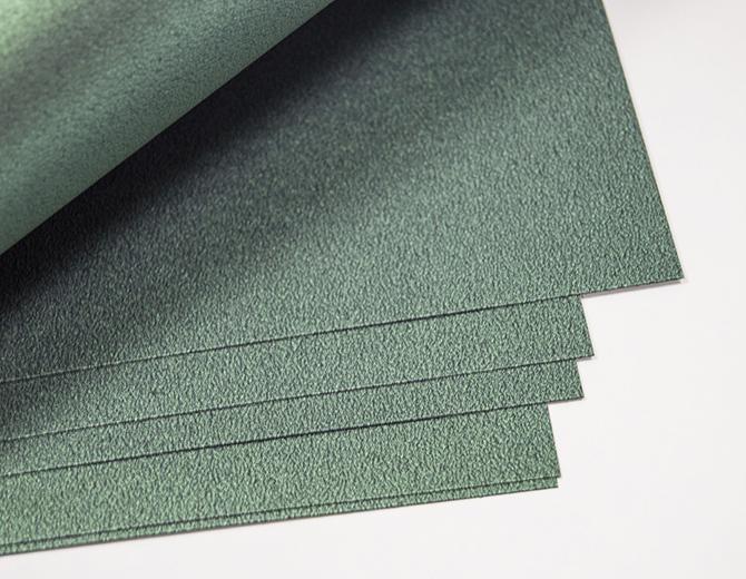 Кардсток дизайнерский 300гр/м металлик зеленый 30х30см