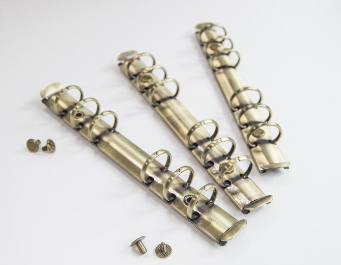 Кольцевой механизм на 6 колец А6 бронза
