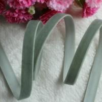 Резинка бархатная (оливковая) 10 мм