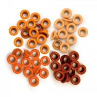 Люверсы стандартные  Orange-Eyelets Standard от We R Memory Keepers
