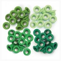 Люверсы стандартные  Green-Eyelets Standard от We R Memory Keepers