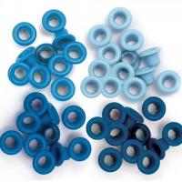 Люверсы стандартные  Blue-Eyelets Standard от We R Memory Keepers