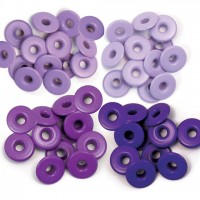 Люверсы широкие Purple-Eyelets Wide от We R Memory Keepers