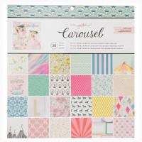 "Набор бумаги Carousel 12""X12"" 36 листов от Maggie Holmes"