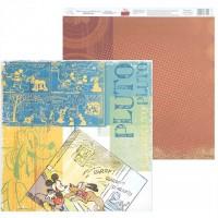 """Бумага для скрапбукинга  Old's cool """"Pluto"""" 29,5х29,5 см"""