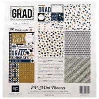"""Набор бумаги  Echo Park """"Grad"""" 30х30см 6 листов 1 лист стикеров"""