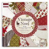 "Набор бумаги  ""Vintage Noel""  48 листов"