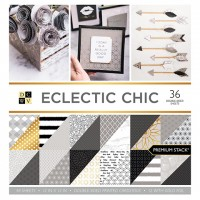 1/2 набора бумаги Eclectic Chic с фольгированием от DCWV