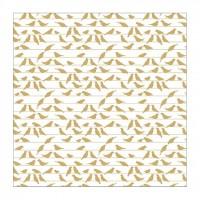 Лист оверлея Gold Foil Flock Together Birds от Paper House