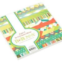 Набор бумаги BoBunny Our Lil' Monster Collection 36 листов 15х15см