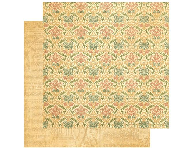 Бумага двусторонняя для скрапбукинга Timeless Memoir G45 30,5х30,5 см