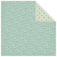 Бумага двусторонняя для скрапбукинга April Showers G45 30,5х30,5 см