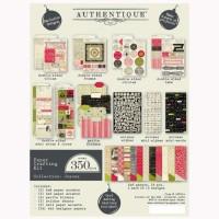 """Набор для бумажного творчества Authentique """"Joyous"""" 350шт"""