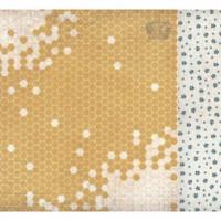 "Бумага двусторонняя  Honeycomb ""Forget-me-not"" 30,5x30,5 см"
