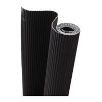 Картон гофрированный 50х70см черный