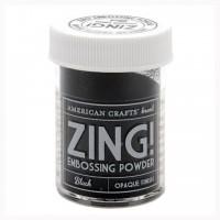 Пудра для эмбоссинга ZING! Black