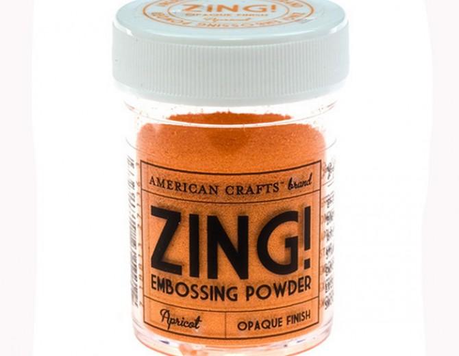 Пудра для эмбоссинга ZING! Apricot