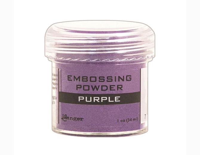 Пудра для эмбоссинга , цвет Purple от Ranger