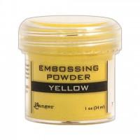 Пудра для эмбоссинга , цвет Yellow от Ranger