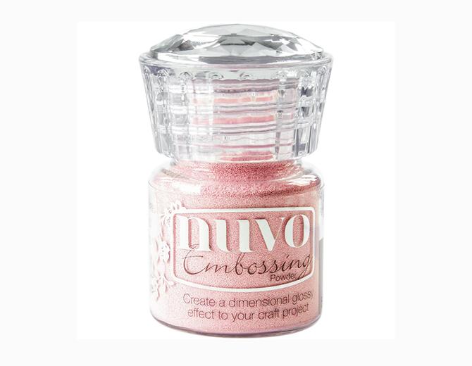 Пудра для эмбоссинга NUVO, цвет Pink